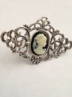 Fashion Costume Jewellery Adjustable Cameo  Ring